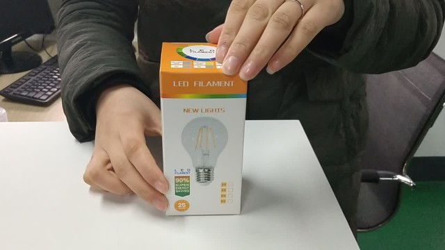 led filament bulb light