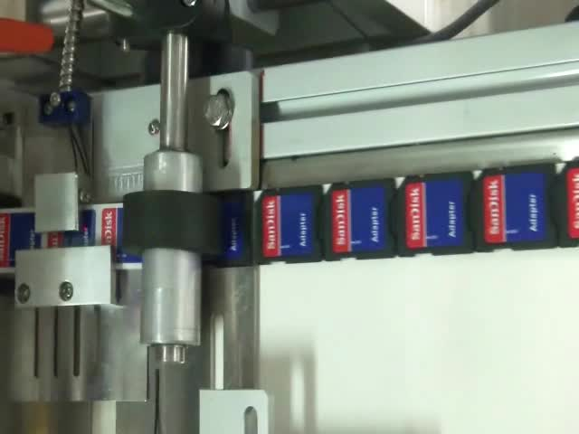High Accuracy SD Card Top Labeling Machine thumbnail image