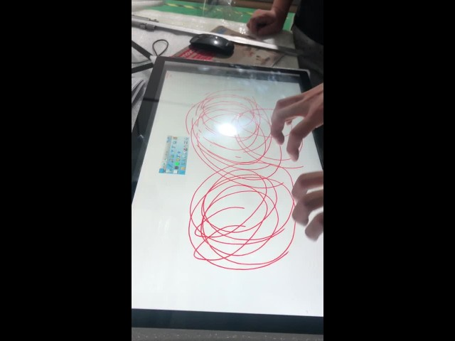 PCAP Touchscreen add 4mm Glass to touch thumbnail image