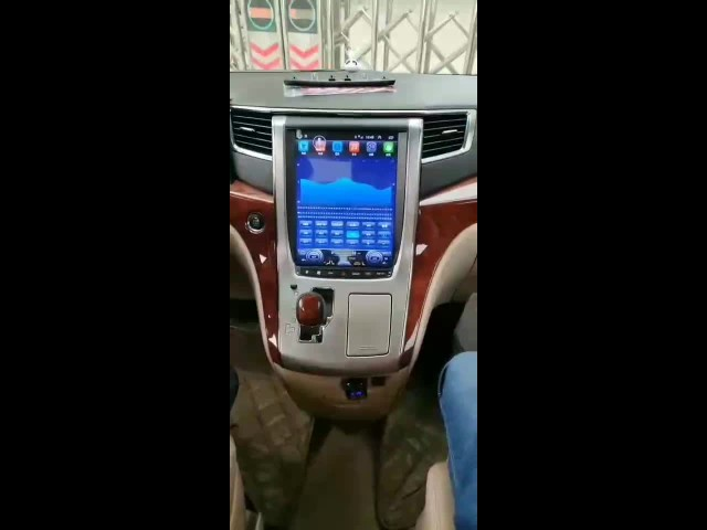 "12.1"" Vertical Screen Toyota Alphard A20"