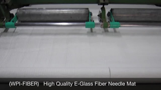 WPI-FIBER High Quality E-Glass Needle Mat