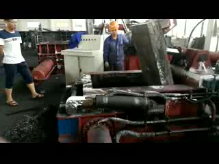 Hydraulic Metal Scrap Round Baler  Machine thumbnail image