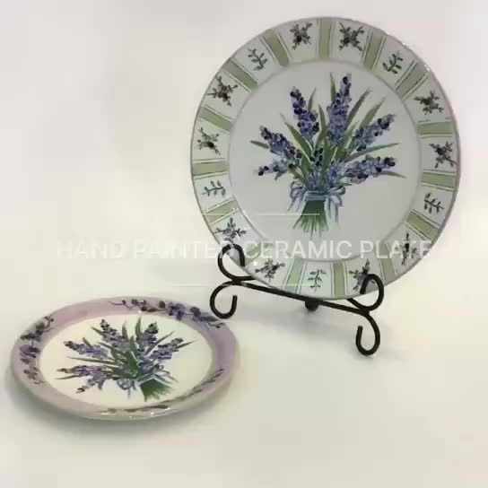 hand painted ceramic plate & home decor thumbnail image