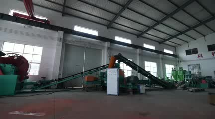 Waste Tyre Recycling Line Installed In Workshop  thumbnail image