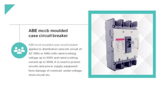ABE mccb moulded case circuit breaker thumbnail image