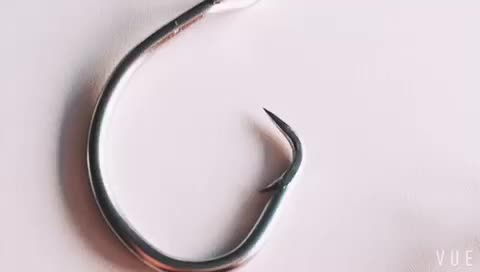 stainless steel  fishing hooks for marine fishing