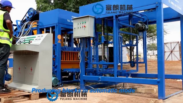 QT4-25 automatic concrete block making machine thumbnail image