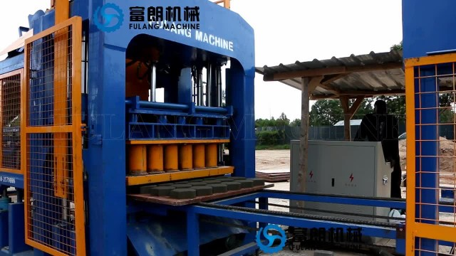 QTF10-15  full-automatic cement block machine thumbnail image