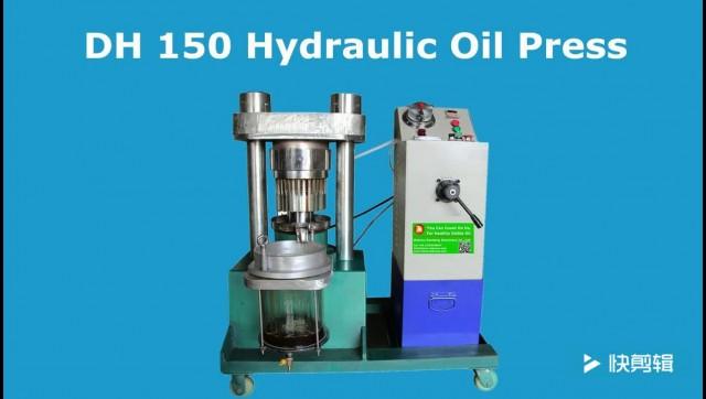 Automatic hydraulic oil press machine