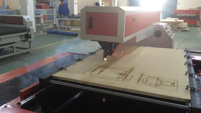 laser die bpard cutting machine