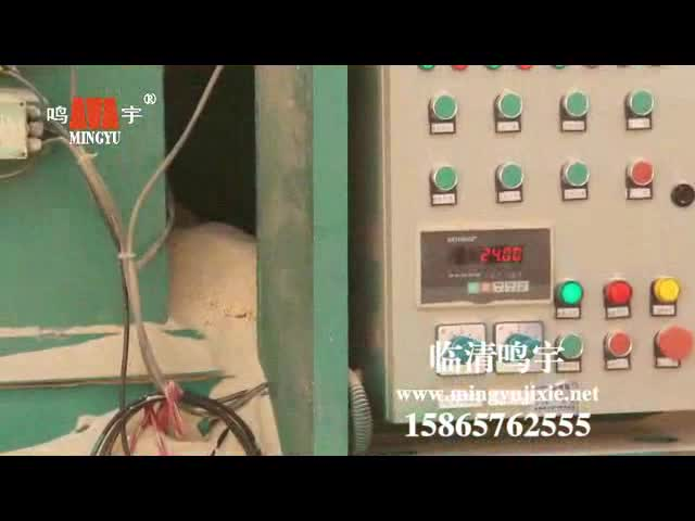 Automatic meter weight of block machine