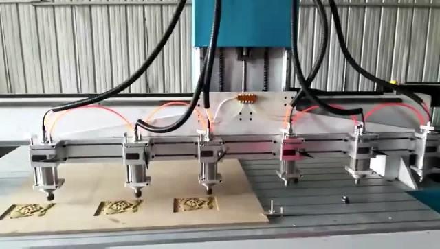 woodworking / advertising engraving machine video
