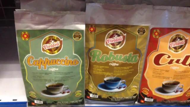 Viet Deli Coffee - Full loading for supermarket