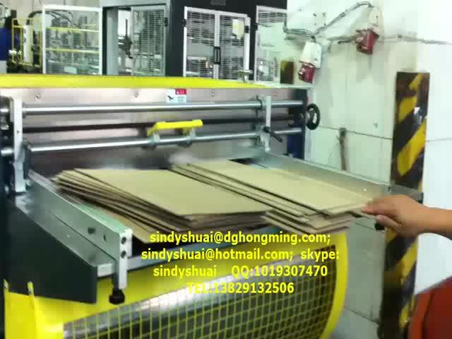 HM-1200B Paperboard Notching Machine