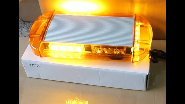 LED Warning mini lightbar police car light LTL221