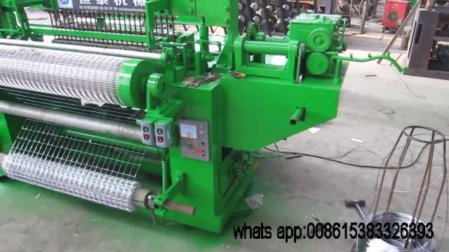 welded wire mesh machine (in roll) thumbnail image