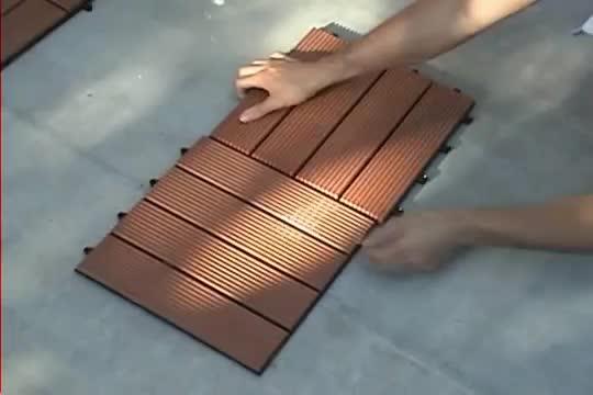 DIY decking