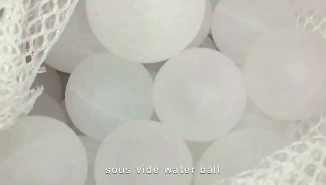 sous vide cooking ball