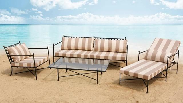 hormel furniture outdoor garden patio sofa set thumbnail image
