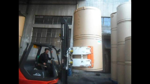 Forklift Attachment Paper Roll Clamp thumbnail image
