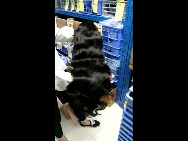 Body wave 100% Virgin Human Hair Wig thumbnail image