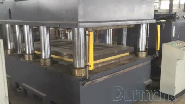 Steel Door Embossing Machine Hydraulic Door Press