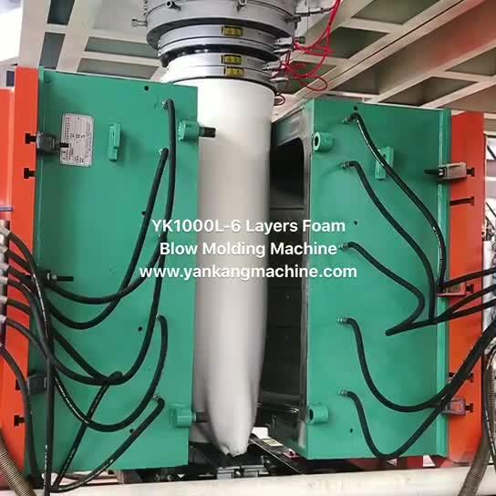 1000L-6 Layers Foam Blow Molding Machine thumbnail image
