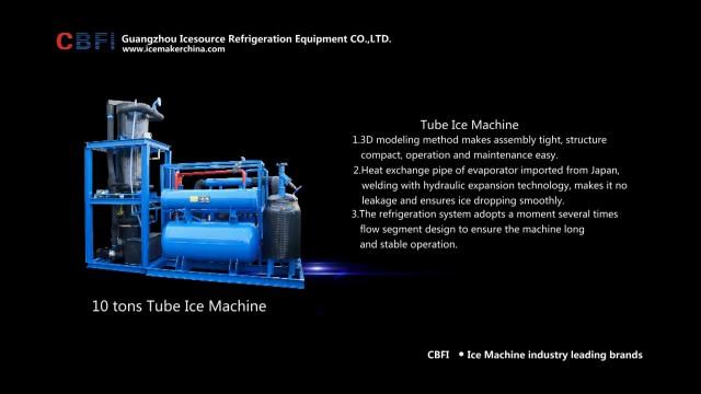 CBFI ice tube machine thumbnail image