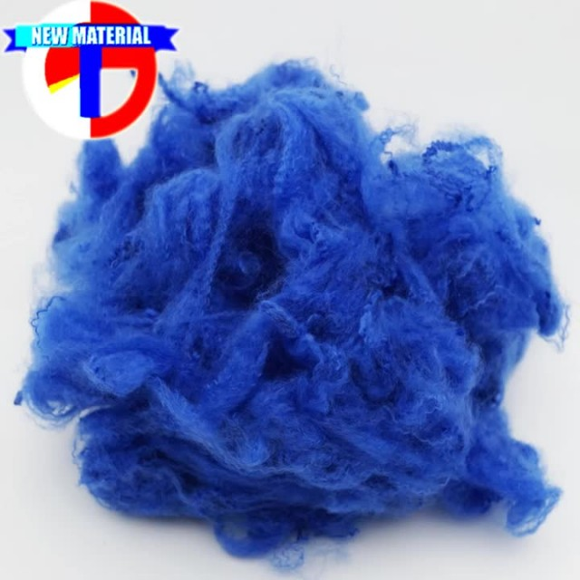 Dope Dyed Recycled Polyester Staple Fiber thumbnail image