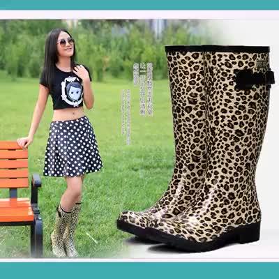 new fashion hunter leopard footwear