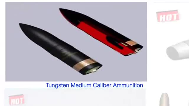 Tungsten Alloy Core For AP Bullets