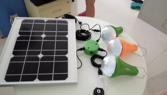 Tope sale solar lighting kit with mobile charger thumbnail image