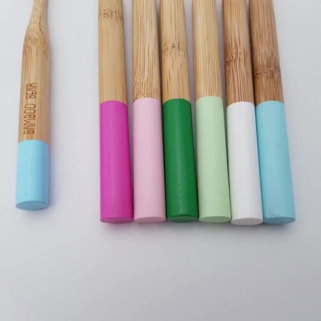 Bamboo Toothbrush natural biodegradable