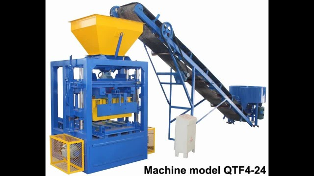 QTF semi-automatic cement brick making machine thumbnail image