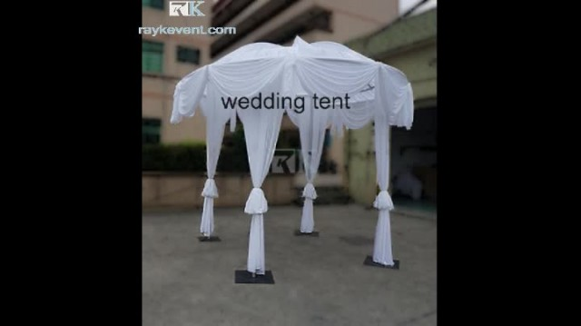 wedding idea white wedding reception tent booth thumbnail image