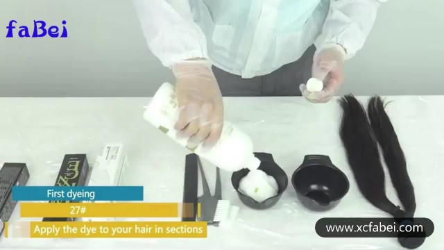 hair weft dye and wash video thumbnail image
