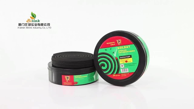 smokeless round box mosquito coils