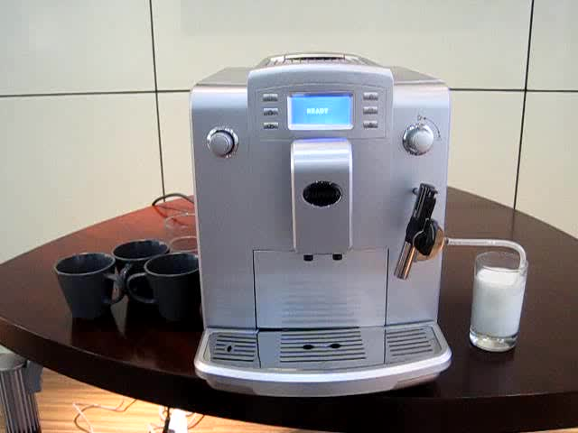 How to maker Cappuccino with WSD18-010B