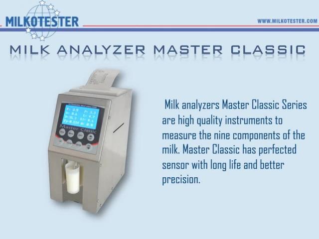 Master LM2 milk analyzer thumbnail image