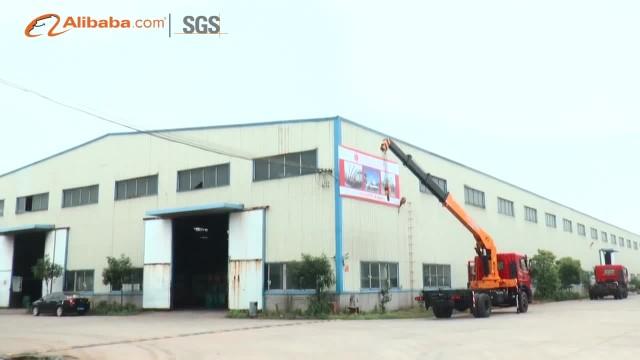 JiangHuan truck mounted crane