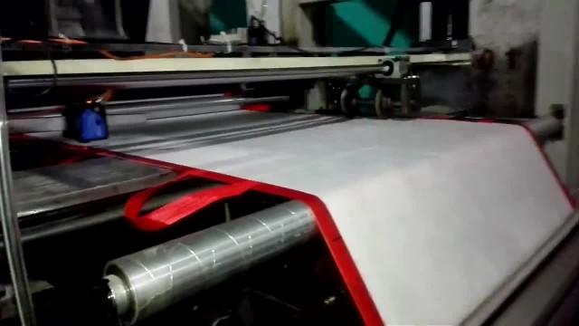 non woven box bag forming machine