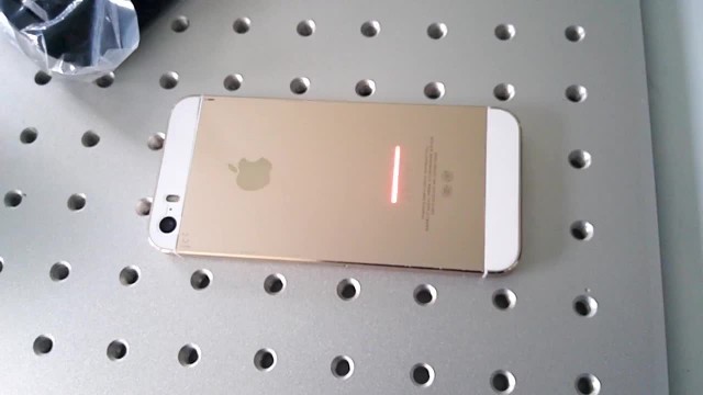 Laser marking machine for iphone marking thumbnail image