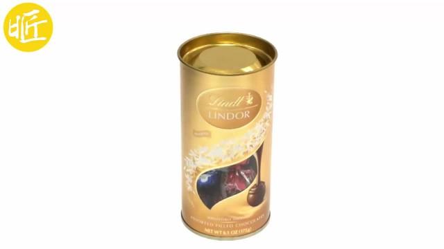 Gold chocolate,candy tin box thumbnail image