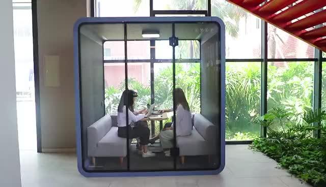 SOUNDBOX Office Meeting Booth