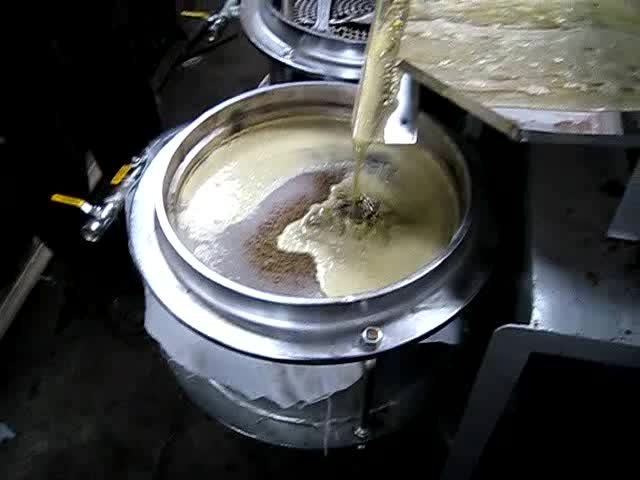 Automatic screw oil press machine