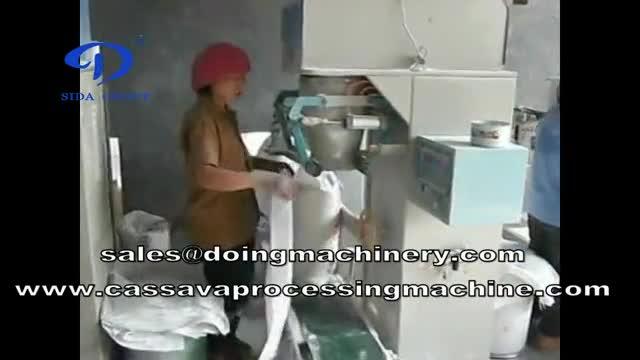starch packing machine | flour packing machine