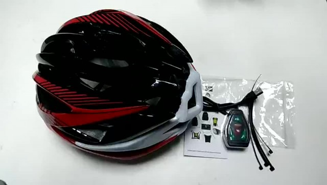 remote control bicycle led helmet