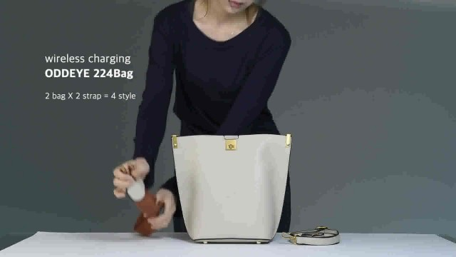 Wireless Charging shoulder bag - 224 bag thumbnail image