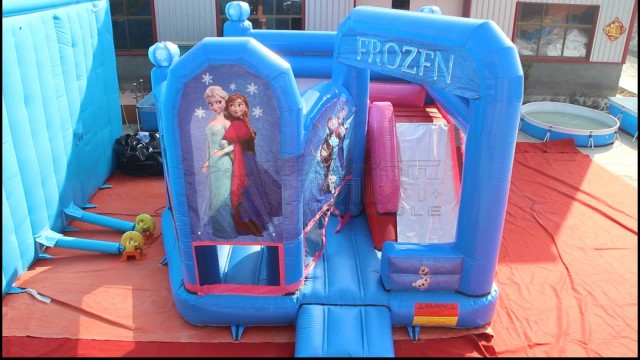 Inflatable Frozen castle thumbnail image