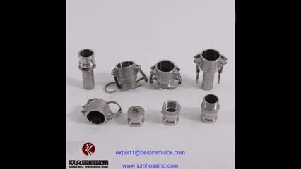 Quick camlock and groove fittings thumbnail image
